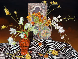 123 - Still Life With Zebra Skin
